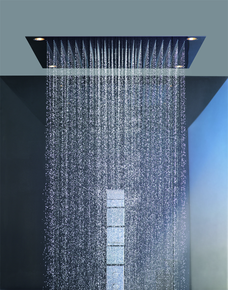 hansgrohe ceiling shower head - Olympic Bathrooms & Plumbing