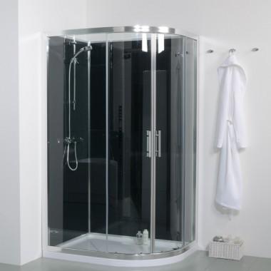 1200mm Offset Left Hand Quadrant Shower