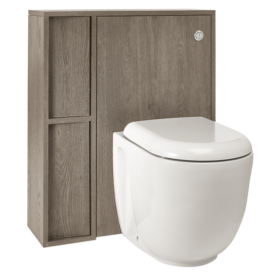 Slant wall hung unit & cistern
