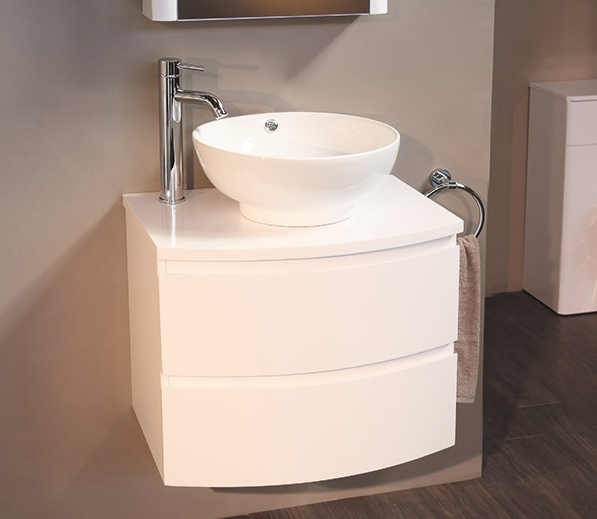 Wall Mounted Vanity Drawer Unit
