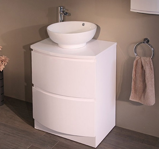 Floor Mounted Vanity Drawer Unit
