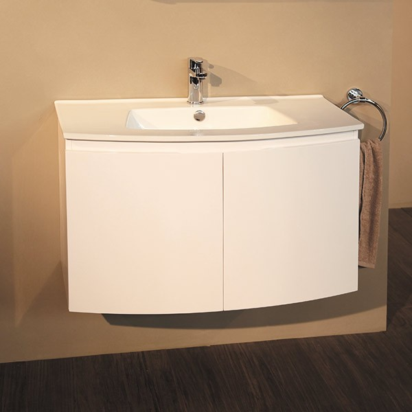 Wall Mounted Vanity Basin Unit