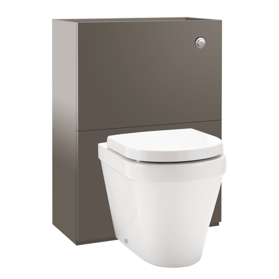 Brown WC unit
