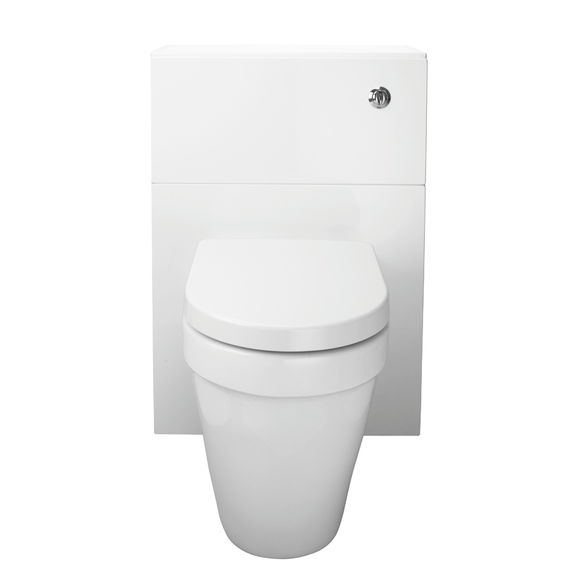 WC Unit Gloss White and Cistern