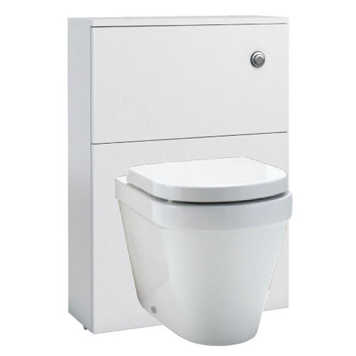 wall hung WC unit – white gloss