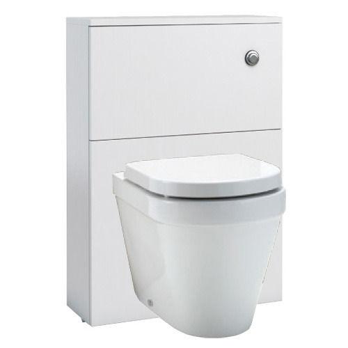 wall hung WC unit – white gloss