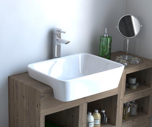 Inset Vanity Basin