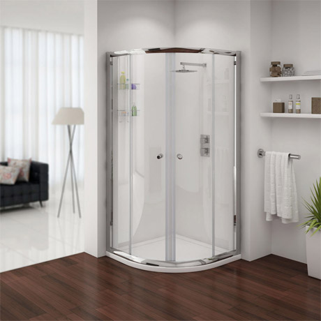 Shower Enclosure with Tray & Waste