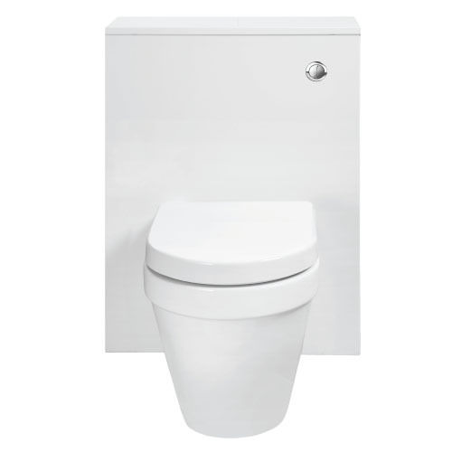 WC unit inc dual flush cistern fittings