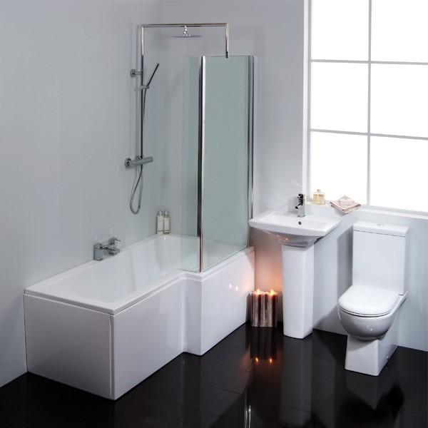 Right Hand Shower Bath Suite
