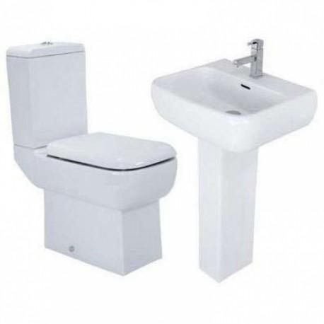 RAK Metropolitan coupled Toilet & Basin