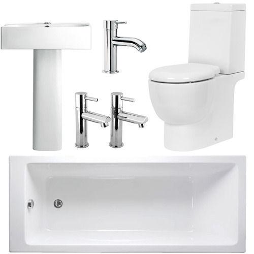 Trio complete bathroom