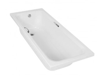 Steel Bath with Grips